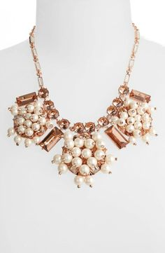 Clink, clink! We love this Kate Spade necklace.