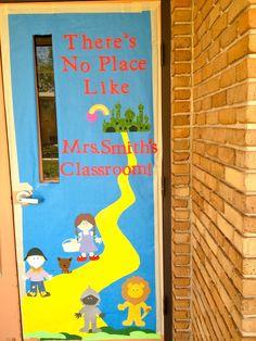 wizard of oz bulletin board ideas | Teacher door decoration I did for the music teacher. Used cricut paper ...