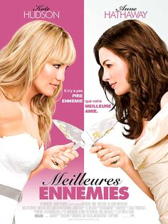 Bride Wars on DVD April 2009 starring Kate Hudson, Anne Hathaway, Kristen Johnston, Bryan Greenberg. Liv (Kate Hudson) and Emma (Anne Hathaway) are best friends who since childhood have planned every detail of their respective weddings. Anne Hathaway, Chick Flicks, Chick Flick Movies, Kate Hudson, Internet Movies, Movies Online, See Movie, Movie Tv, Movie List