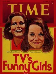 """""""Time"""", October 1974 (Mary Tyler Moore and Valerie Harper)"""