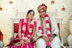 indian-wedding-bride-groom-jai-mala-pink http://maharaniweddings.com/gallery/photo/2711