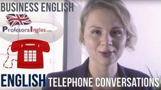 Llamar por teléfono en inglés  Business English Telephone conversations