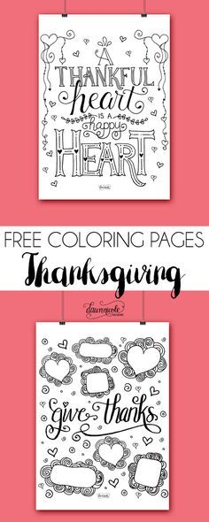 Two all new FREE Coloring Pages from dawnnicoledesigns.com.