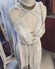 Thank you for embracing our new ZEPHORA top 🙏💫✨It's been amazing to see each colourway combination come to life | This Ivory & Gold order will be flying out of the studio next week!! 🌏 ✈️ #denissemvera #macrame #handmade