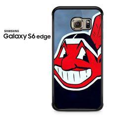 Cleveland Indians Mlb Sport Logo Samsung Galaxy S6 Edge Case