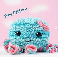 Cute Jellyfish Toy Crochet pattern by Masha Danilova Quick Crochet, Crochet Basics, Crochet Yarn, Crochet Hooks, Free Crochet, Amigurumi Patterns, Crochet Patterns, Universal Yarn, Baby Scarf