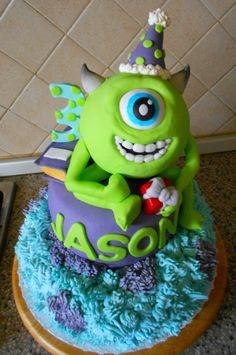 "torta di compleanno ""Monster University"""