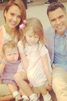 Jessica Alba's family
