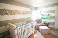 aiden's baby nursery (photo 3 of 3)