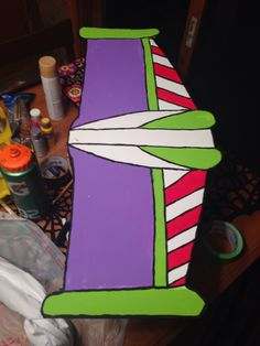 Buzz Lightyear costume wings diy