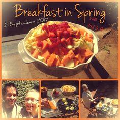 Breakfast in Spring with Mel & Q  #breakfast