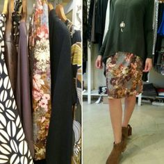 New skirts collection Autumn colors