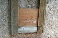 Sliding pop door in the chicken coop