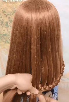 Easy Hairstyles For Long Hair, Headband Hairstyles, Braided Hairstyles, Cool Hairstyles, Front Hair Styles, Short Hair Styles Easy, Medium Hair Styles, Hair Style Vedio, Hair Streaks