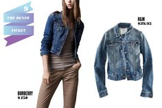 The Denim Jacket — Our favorite street-style heroines know how incredibly versatile a good denim jacket can be all year round, and this spring, it's the ultimate casual layering essential. Broken in and a tiny bit shrunken (this is the key!), the denim jacket works overtime, going from an after-hours party paired with some sequins to a long weekend walk through Central Park. The rule of thumb, right through to fall: Don't leave home without it.