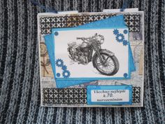 Nostalgické motorkářské přáníčko
