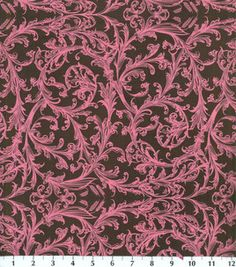 Keepsake Calico Fabric-Pink Damask Scroll : quilting fabric & kits : fabric :  Shop | Joann.com