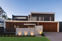 Vulcan Timber Screening in Teak Finish Timber Screens, Timber Cladding, Exterior Cladding, Wall Cladding, Post And Beam, Luxury Yachts, Sunshine Coast, Luxury Homes, Teak