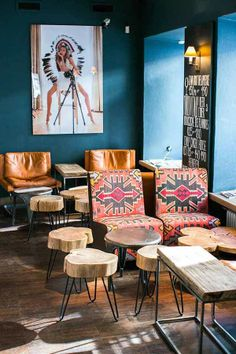 VINTAGE & CHIC: decoración vintage para tu casa · vintage home decor: Un restaurante con mucho encanto en San Petersburgo · A really cozy re...