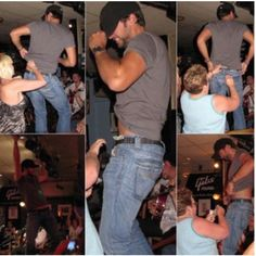 Luke <3... now where the heck can I get this strip tease?!?!