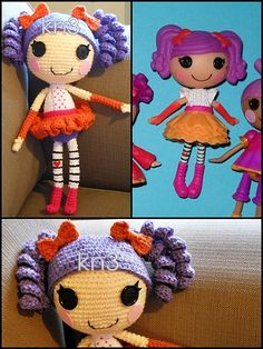 12 in. crochet doll made by my very talented friend.