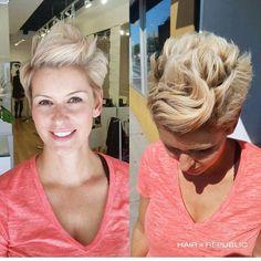 Sehr brave und formelle alltägliche kurze PIXIE Frisuren