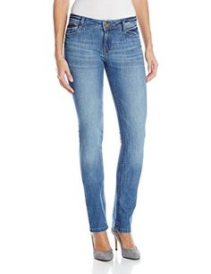 DL1961 Women's Grace Straight Jeans In Shine, 27 *** Visit the image link more details.