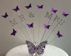 Butterfly Cake Decoration Uk : 1000+ ideas about Butterfly Wedding Cake on Pinterest ...