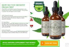 """PURE CBD OIL Free Trial : 100% Pure CBD Oil, MIRACLE DROP & Benefits – Free Trial Available! Clinically Validated.  Get a Trial Bottle--> http://healthfactsjournal.com/pure-cbd-oil-free-trial/  #Pure #CBD has been proven to help as a Digestive Aid, combats tumor and Cancer cells, Psychosis disorders, Inflammatory disorders, Analgesic, Neurodegenerative disorders, Depression disorders, Anxiety reliever and even prevents many types of Seizures! It's been called """"Miracle Drop"""" that is sweeping…"""