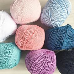 We have started stocking the lovely Natura crochet cotton again! it's just so pretty and soft  it knits like a four ply so it perfect for baby and craft patterns  in the shop now -link in bio-
