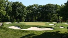 Wilczynski and DeVries design short game area for University of Michigan Pga Tour Players, Golf Range, University Of Michigan, Saint George, Toronto, Golf Courses, Restoration, Game, Design