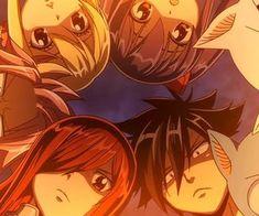 fairy tail Dragon Cry   Erza, Gray, Happy, Carla, Wendy, Lucy, Natsu