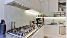 Whangarei Kitchen by Sue Gillbanks on ArchiPro Pantry Design, Kitchen Design, Square Kitchen, Walk In Pantry, Kitchens, Kitchen Cabinets, Professional Kitchen, Pantries, Modern
