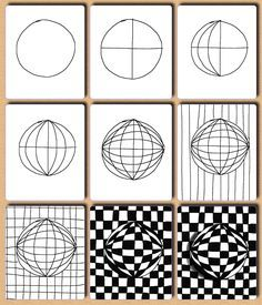 Op art, also known as optical art, is a style of visual art that uses optical illusions. Op art works are abstract, with many better-known pieces created in black and white. Illusion Kunst, Illusion Drawings, Art Pop, Middle School Art, Art School, Op Art Lessons, Arte Elemental, Art Worksheets, School Art Projects