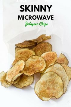 Skinny Microwave Jalapeno Potato Chips are made in minutes, right in your microwave, no greasy frying, no extra calories, just pure fiery flavor! theviewfromgreatisland.com