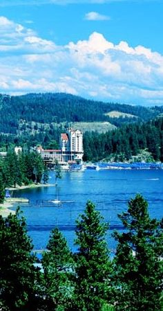 Couer d'Alene, Idaho.I would like to visit this place one day.Please check out my website thanks. www.photopix.co.nz