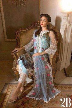 Sobia Nazir Luxury Lawn Suit - Replica Suits - diKHAWA Online Shopping in Pakistan