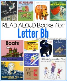 Letter B Books - Book List: Read Aloud Books for the Letter B | This Reading Mama