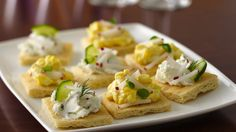 A modern update to a traditional favorite, these open-face tea sandwiches are easy to make and impressive to serve.