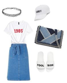 A fashion look from July 2017 featuring tie front shirt, mid calf skirts and schutz sandals. Browse and shop related looks. Aldo, Miss Selfridge, Forever 21, Shoe Bag, Polyvore, Stuff To Buy, Outfits, Shopping, Collection