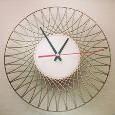 Your place to buy and sell all things handmade Unique Wall Clocks, Wood Clocks, Laser Cut Wood, Laser Cutting, Shabby, Relax, Geometric Wall, Ceiling Design, Hobbies And Crafts