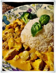 Orange curry chicken - At home with Sofia