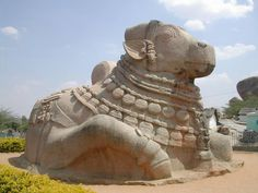 Nandi at the Gates of lepakshi