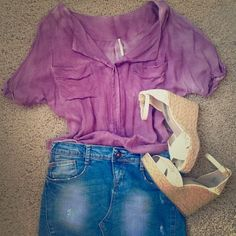 Free People cotton top Free People cotton top. Size small. A fun item to throw on for a casual look. Free People Tops Tees - Short Sleeve