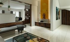 Temple Design For Home, Indian Home Design, Hall Interior, Room Interior Design, Interior Office, West Facing House, Altar Design, Mandir Design, Pooja Room Door Design