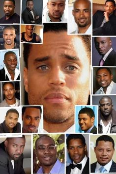 Black Men are gorgeous. I prefer to say all styles of good looking men look GOOD lol Fine Black Men, Gorgeous Black Men, Handsome Black Men, Fine Men, Black Love, Beautiful Men, Black Man, Black Guys, Handsome Faces