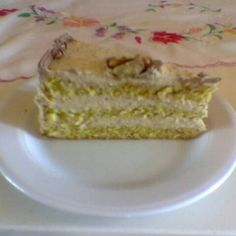 Diótorta Hungarian Recipes, Vanilla Cake, Ale, Food, Ale Beer, Essen, Meals, Yemek, Eten