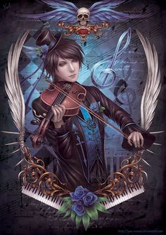 The Violinist by Yue-Iceseal on deviantART