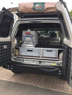 Nissan Patrol, Rigs, Bee, Camping, Storage, Vehicles, Outdoor, Campsite, Purse Storage