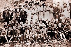 Børnearbejdere i København ca. 1900